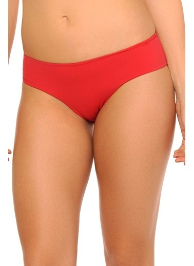Reflections Mix Match Kalın Kenarlı Düz Bikini Alt Kırmızı
